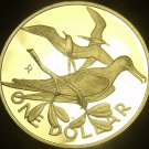 British Virgin Islands 1978 Dollar~Rare Silver Proof~6,196 Minted~Frigate~Fr/Shi