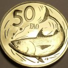 Cook Islands 1979 FAO 50 Cents Rare Proof~4,058 Minted~Bonito Fish~Free Shipping