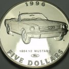 Marshall Islands 1996 $5.00 Gem Unc~Henry Fords 1964 1/2 Mustang~Classic Cars~FS