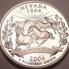 Gem Cameo Proof 2006-S Nevada State Quarter~Free Shipping