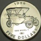 Marshall Islands 1996 $5.00 Gem Unc~Henry Fords 1909 Model T~Classic Cars~Fr/Shi