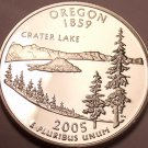 Gem Cameo Proof 2005-S Oregon State Quarter~Free Shipping