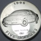 Marshall Islands 1996 $5.00 Gem Unc~Henry Fords 1996 Taurus~Classic Cars~Free Sh