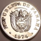 Rare Proof Panama 1974 5 Centesimos~17,000 Minted~Free Shipping
