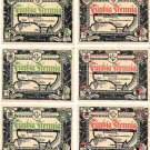 Germany 5 Towns 10 Notes Notgeld Set Unc~Eutin~Plon~Lutienburg~Scharbeutz~More~