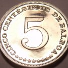 Panama 1973 5 Centesimos Proof~Rare~Only 17,000 Minted~Free Shipping
