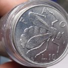Gem Unc Roll (40) San Marino 1974 FAO 10 Lire Coins~BEE COINS~Free Shipping