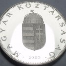 Rare Proof Hungary 2003-BP 2 Forint~Only 7,000 Minted~Colchicum Hungaricum~Fr/Sh