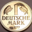 Germany - Federal Republic Mark, 1977-J Proof~Only 43,000 Minted~Free Shipping