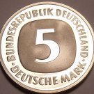 Germany - Federal Republic 5 Mark, 1977-J Proof~43,000 Minted~Free Shipping