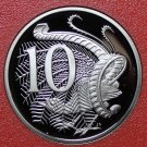 Australia 10 Cents, 1990 Rare Proof~Lyre Bird~53,000 Minted~Free Shipping