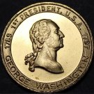 George Washington President Bronze Medallion~American Fabius~Father Of Country~