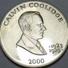 Liberia 5 Dollars 2000 Gem Unc~Calvin Coolidge President 1923-1929~Free Shipping