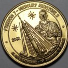 Freedom VII 1st American In Space Nasa Medallion~Bronze~Free Shipping