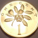 Jamaica 1974 Cent~Rare Proof~17,000 Minted~Ackee Fruit~Free Shipping