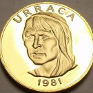 Panama Centesimo, 1981 Rare Proof~Only 1,973 Minted~Uracca~Free Shipping