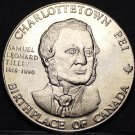 Charlottetown Birthplace Of Canada Trade Token Dollar 1981~UNC~Province House~FS