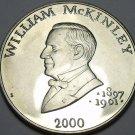 Liberia 5 Dollars 2000 Gem Unc~William McKinley President 1897-1901~Free Ship