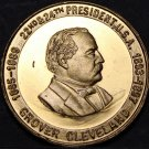 Grover Clevelend 22&24th President Bronze Medallion~Old Grover~Man Of Destiny~FS