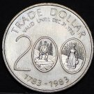 Musquodoboit Nova Scotia Canada 200th Anniversary Trade Token Dollar 1983~UNC
