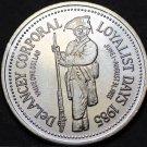 St. John New Brunswick Canada 200th Anniversary Trade Token Dollar 1985~UNC~Fr/S