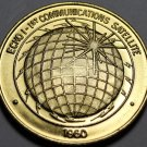 Echo I 1st Communication Satellite Nasa Medallion~Bronze~Free Shipping