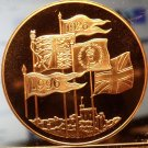 Great Britain 5 Pounds, 1996, 70th Birthday of Queen Elizabeth II~PROOF~Free Shi