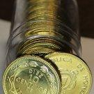 Gem Unc Roll (20) Large Honduras 2007 10 Centavo Coins~Pyramid~Last Year~Free Sh