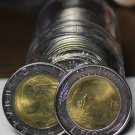 Gem Unc Roll (20) Large Italy 1984 500 Lire Coins~Bi-Metallic~Free Shipping