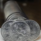 Gem Unc Roll (40) San Marino 2000 10 Lire~LOVE COIN~Minted In Rome~Free Shipping