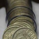 Circulated Vintage Roll (50) U.S.S.R. Russia 10 Kopek Coins 1961-1991~Free Ship