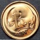Australia Cent, 1977 Gem Unc~Feather-Tailed Glider~Free Shipping