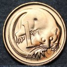 Australia Cent, 1980 Gem Unc~Feather-Tailed Glider~Free Shipping