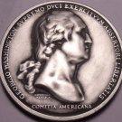 George Washington Before Boston Solid Pewter 38.1mm Medallion~Free Shipping