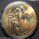 American Revolution Solid Bronze Encapsulated Medallion~Sam Adams~Patrick Henry~
