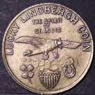 Charles Lindbergh Original 1927 Lucky Lindberg Coin 31.6mm Uncirculated~Free Shi