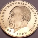 Germany 1981-J 2 Marks Proof~Konrad Adenauer~91,000 Minted In Hamburg~Free Ship