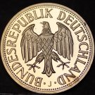 Germany 1981-J Mark Cameo Proof~Minted In Hamburg~91,000 Minted~Free Shipping
