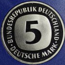Germany 1981-J 5 Marks Proof~91,000 Minted~Eagle With Wings Spread~Free Shipping