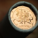 Gem Unc Original Roll (50) Lithuania 2017 2 Euro Cents~Knight On a Horse~Free Sh