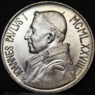 Vatican City 1000 Lire, 1978 Gem Unc Silver~John Paul I~200k Minted~Free Ship