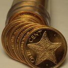 Gem Unc Roll (50) Bahamas 1998 Cents~Starfish Coins~Free Shipping