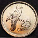 Seychelles 5 Cents, 1982 Gem Unc~Black Parrot~Only Year~375k Minted~Free Ship*