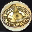 Proof Toned The Scotch Whiskey Heritage Center 38.1mm Bronze Medallion~Free Ship