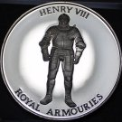 44.6mm Proof Royal Armouries At The Tower Of London Henru VIII Medallion~Fr/Ship
