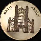 Bath Abbey England Proof 38.1mm Bronze Medallion~City Of Bath~Free Shipping