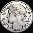 France 1 Franc, 1957-B Gem Unc~Excellent~Cornucopias~Free Shipping