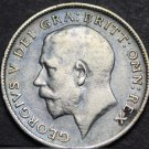 Great Britain 6 Pence, 1914 Silver~Lion On Top Of Crown~Free Shipping