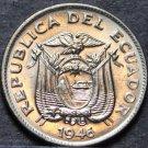 Ecuador 5 Centavos, 1946 Gem Unc~Free Shipping