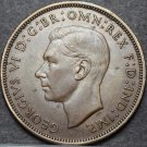 Great Britain Penny, 1944 AU-UNC~Free Shipping